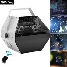 60w 0.8L Mini Bubble Machine Wireless Remote/Panel Control Professional DJ /Bar /Party /Show /Stage Machine