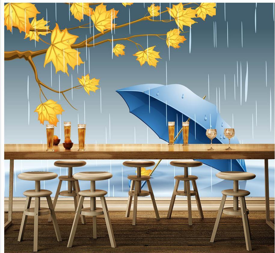 ₩家の装飾バーktv窓雨カチカチテ...