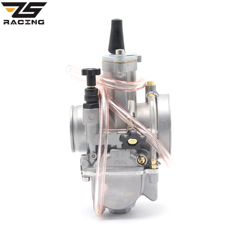 ZS Racing New Model KEIHIN PWK Carburetor Carburador 28 30 32 34 mm With Power Jet Fit On Racing Motor 2T 4T Engine цена
