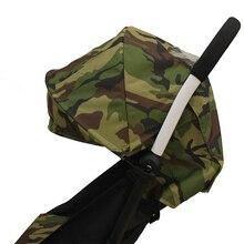 Textile Parasol + siège coussin Bébé Poussette accessoire adapté pour yoya poussettes tapis pare-soleil bouclier poussette pad oxford