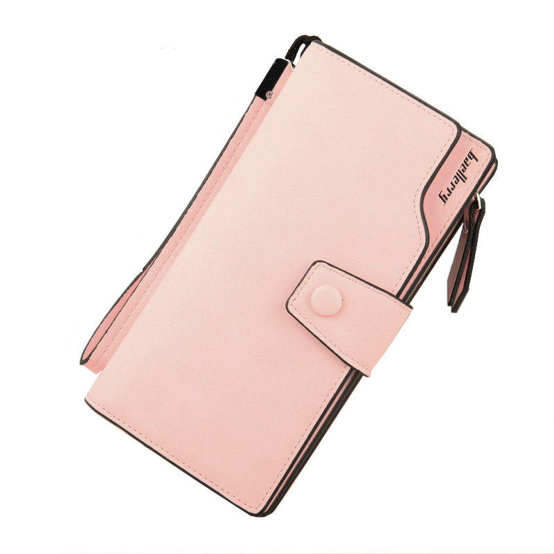 Card holder Leather Wallet Women Long Design Quality passport cover Fashion Casual Women Purse Zipper Multi-function coin purse ...
