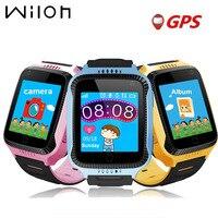 2017 New GPS Tracking Watch For Kids Q528 Y21 GPS Smart Watch Flashlight Camera Baby Watch