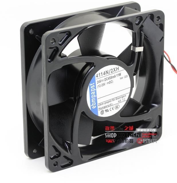 Original 4114 24 V 11 W N/2XH 12038 inversor ventilador de refrigeração