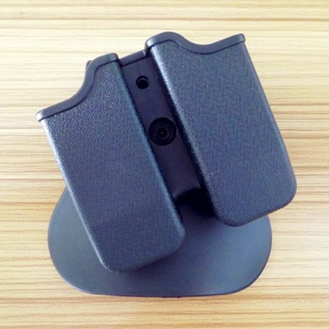 4ccd82dc59ac Tactical Magazine Pouch Hunting Belt Double Mag Pouch for 9mm GL 17 21 M9  Holster Pouch