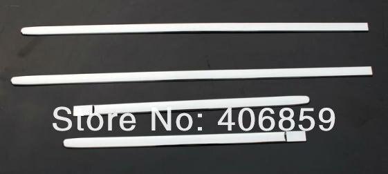 ФОТО High quality ABS Chrome body side moldings side door decoration For 2010-2011 Hyundai VERNA/Solaris