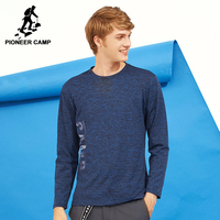 Pioneer Camp New Design Autumn Men T Shirt Brand Clothing Casual Long Sleeve T Shirt Male