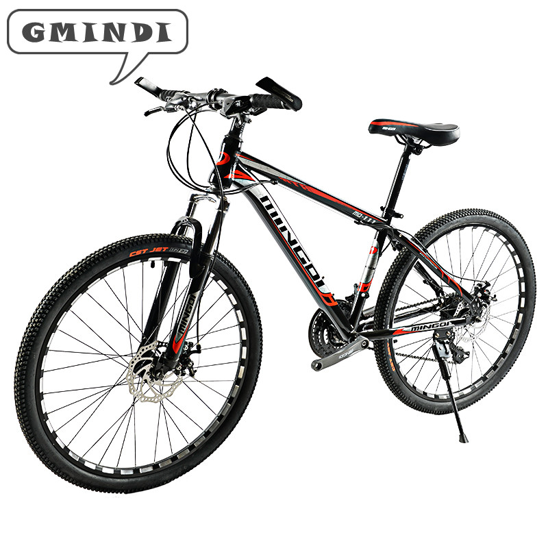 GMINDI 26-inch Mountain Bike 24 Speed Bicicleta Double Disc Brake Bicicleta Student Bicycle Race Bicycle Free Delivery