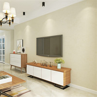 Modern Minimalist Solid Color Wall Wallpapers Non Woven Wall Paper For Living Room Bedroom Whole Room