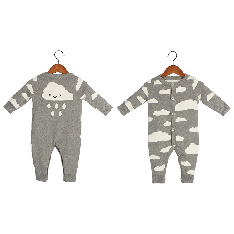 Baby Rompers Knitted  Long Sleeve Kids girls  Jumpsuits Cotton Baby boys  Romper for Autumn Casual Style Overalls cotton baby rompers set newborn clothes baby clothing boys girls cartoon jumpsuits long sleeve overalls coveralls autumn winter