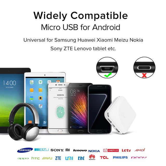 Kabel Micro Usb Kablo 1m 2m 3m szybkie ładowanie synchronizacja danych telefon komórkowy ładowarka do smartfona z androidem kabel nylonowy do Samsung Xiaomi Xiomi Redmi 7 tanie i dobre opinie ocube Samsung adaptacyjne szybkie ładowanie INMETRO RoHS NEMKO KEMA VCCI MSDS BSMI MEPS SASO C-tick IRAM WEEE 15 w USB Cable Fast Charging For Xiaomi Redmi Note 5 Pro Android Mobile