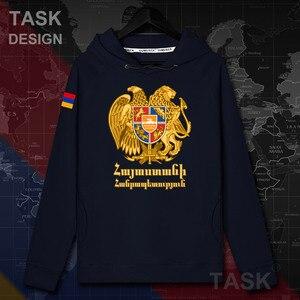 Image 2 - Armenia Armeno BRACCIO AM mens felpa con cappuccio pullover con cappuccio da uomo felpa streetwear abbigliamento hip hop tuta Autunno nazione cappotto 20