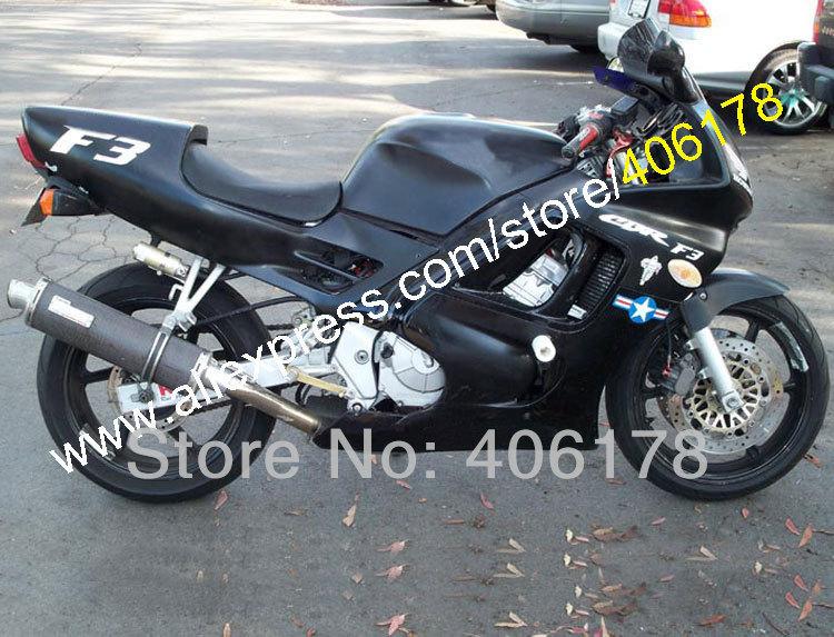 Горячие продаж,Новый горячий для Honda CBR600F3 ЦБ РФ 600F3 95 96 CBR600 F3 в черный ЦБ РФ 600 F3 1995 1996 обтекатель комплект (литья под давлением)