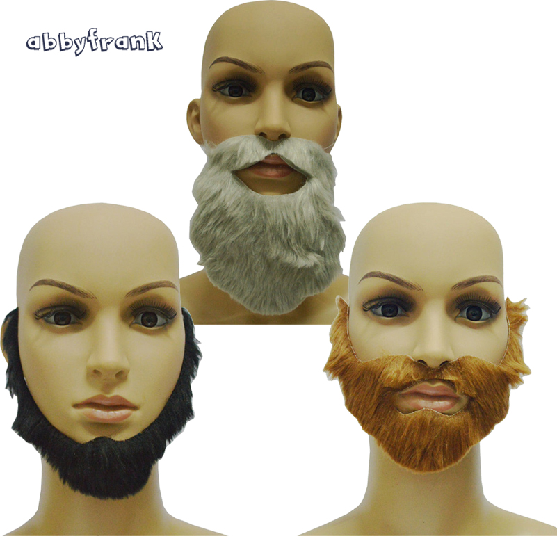Funny Costume Beard Fake False Beards Mustaches for Kids Adult Party Supplies 48