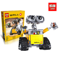 Building Blocks Model 16003 Compatible with IDEA WALL E legoINGlys 21303 Figure Educational Toy for Children high tech toys