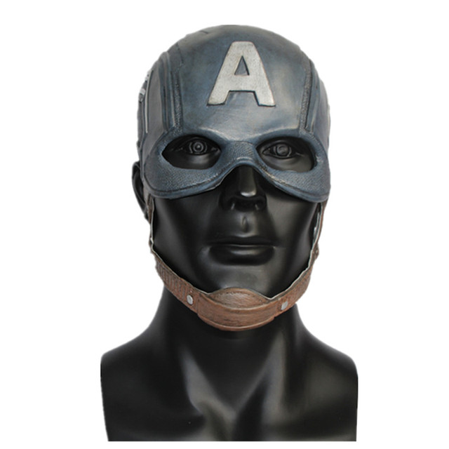 Men's Latex Movie Costume Helmet Latex Mask Movie Cosplay