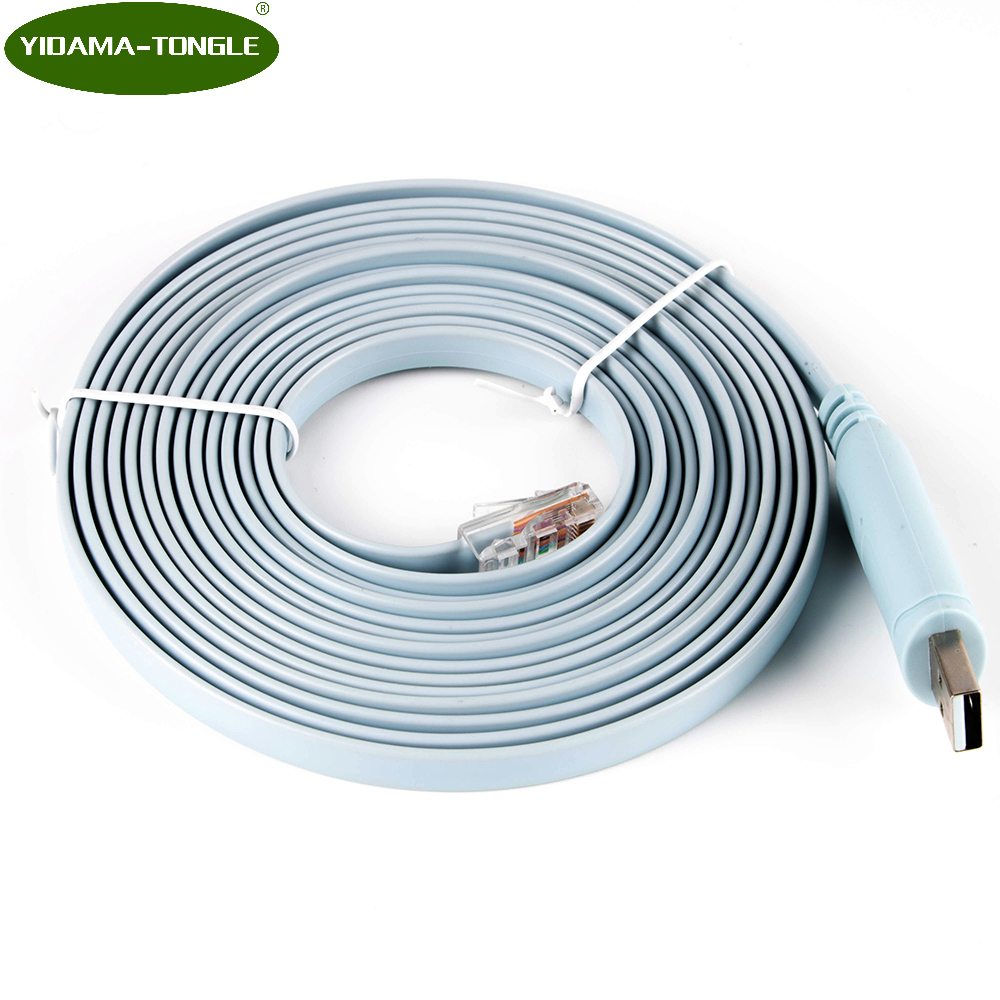 3 6mtr Ftdi Usb Rs232 To Rj45 Console Cable Long Version For Cisco Rollover Diagram Serial Chipset Router