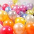 Globos de Oro plata 20 unid de 12 Pulgadas Color De La Perla Globos de Látex 3.2g Decoración de Fiesta de Cumpleaños Decoración Globos Ballon Púrpura