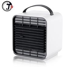 2000 mAh Battery Air Cool Fan Negative Portable USB Air Conditioner Humidifier Purifier Light Night Desktop Mini Fan Home Office