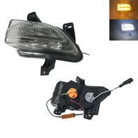 Pair led daytime running lights fits For jeep renegade 2015 2018