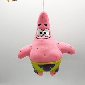 Image 5 - 6 Styles Cartoon Plush SpongeBob Patrick Star Squidward Tentacles Eugene Sheldon Gary Dolls Stuffed Toys Kids Girls Gifts