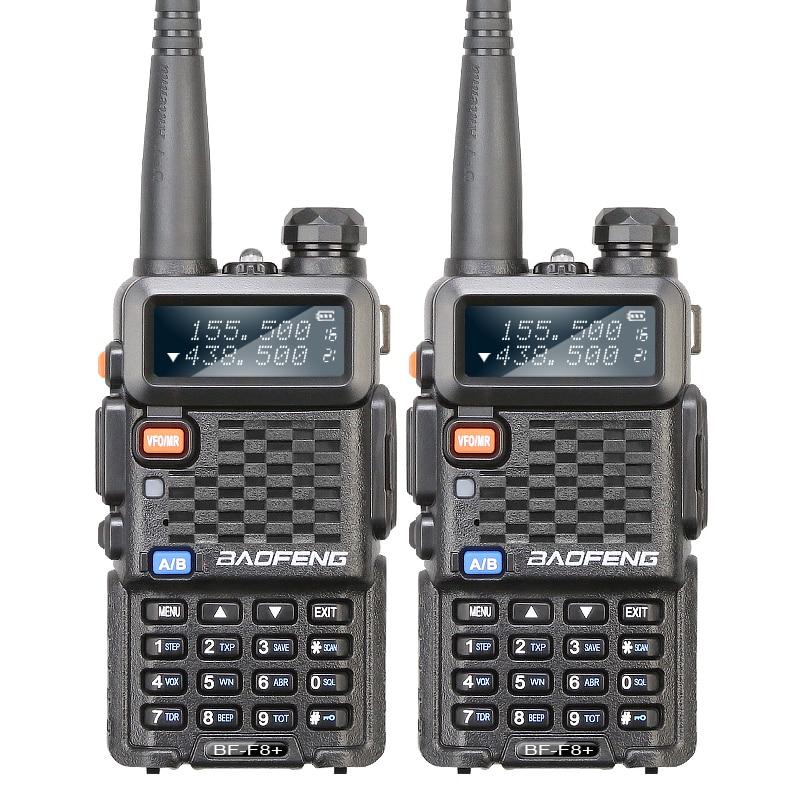 2 uds Original de Baofeng BF-F8 + VHF UHF de banda Dual 5W CTCSS DCS Radio de dos vías Walkie Talkie auriculares gratis Contador de frecuencia portátil de 50MHz-2,4 GHz RK560 DCS CTCSS, medidor de Radio, medidor de frecuencia de RK-560
