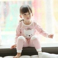 Kids Girls Pajamas Sets Princess Pyjamas Kids Christmas Pajama Infantil Sleepwear Home Clothing Cartoon Cotton Baby