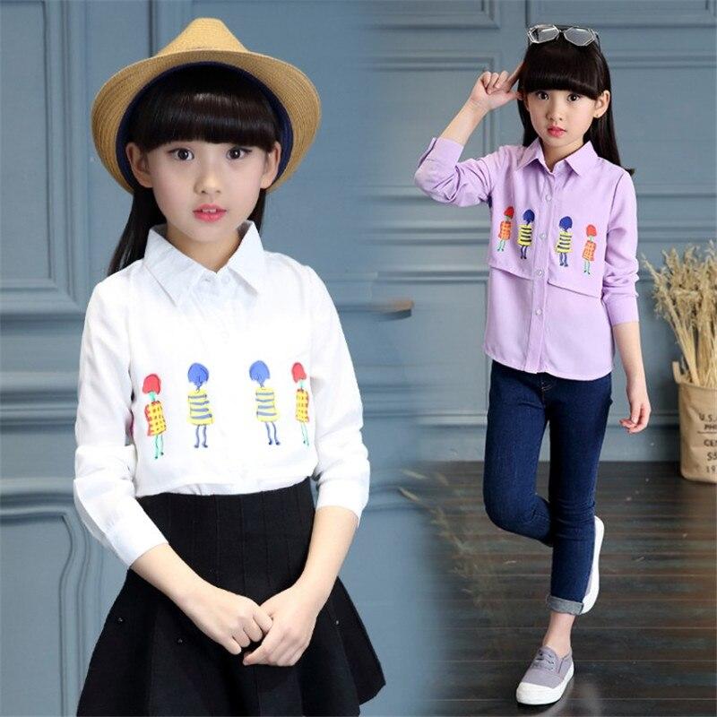 Zoe Saldana 2018 Spring Autumn Baby Girls Clothes Koszula dziecięca - Ubrania dziecięce - Zdjęcie 3