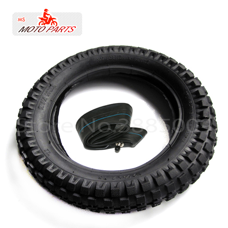 NEW INNER TUBE <font><b>TIRE</b></font> WHEEL SET 12X1.75/2.125 For CHILD BICYCLE BIKE image