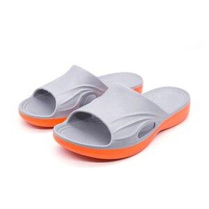 Image 2 - Sanzoog מותג אופנה גברים נעלי בית גדול גודל 36 ~ 50 קיץ חוף כפכפים רך נוח נעלי בית גברים של לסתום נעליים