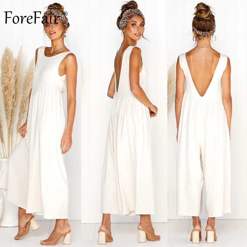 Jumpsuit Women Boot Cut Wide Leg Elegant Off Shoulder (9)
