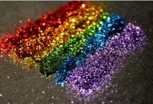 1pack 3g hot Nail Glitter flash powder Manicure accessories furniture Christmas decorative Glitter bright color nail