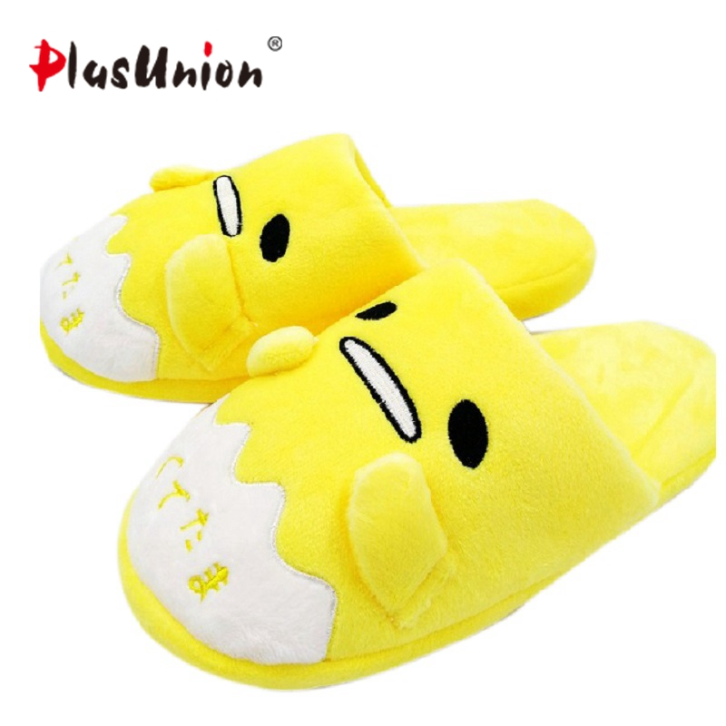 anime home indoor slippers plush embroidered winter flock furry fluffy for women shoes rihanna house slipper unisex cartoon plush winter emoji slippers indoor animal furry house home men slipper with fur anime women cosplay unisex cartoon shoes adult
