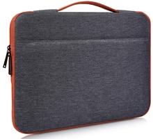 Capa de luva de 11 15.6 polegadas para macbook pro/laptop de superfície 2017/livro de superfície, bolsa fina para laptop, lenovo dell hp asus ace
