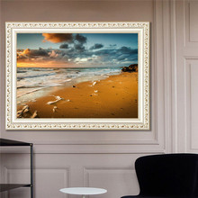 Top Selling Diamond Painting Not Finished Without Frame Diamond+Canvas 30*40cm With Shining Light Popular DIY Decorations(China)