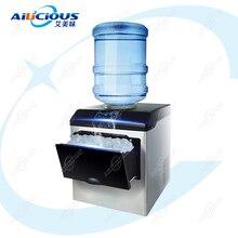 HZB25 коммерческий или бытовой льдогенератор пуля машина для производства льда Электрический 220 В бутылка воды