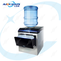 HZB25 Commercial or Household Ice Maker Bullet Ice Making Machine Electric 220V Bottle Water Supply