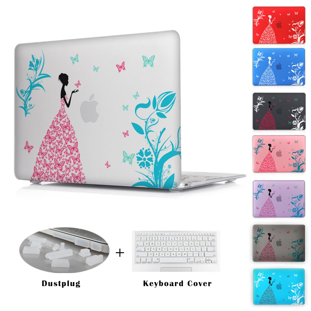 Fashion Color Print Cover For Apple Macbook Pro 13 15 Mac 12