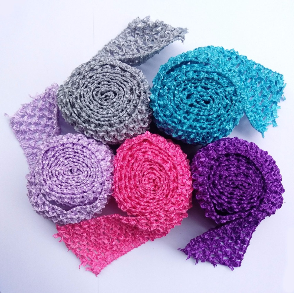 Tutu bands Stretchy 2 75inch wide Crochet Elastic Waistband by the Meter for tutu font b