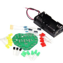 DIY Kit Heart Shape Breathing Lamp Kit DC 3V-5V Breathing LED Suite Red, yellow and green DIY