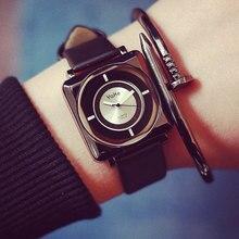 Fashion Leisure Female Fashion Watch Students Simplicitysideof Small Dial Leather Watchband