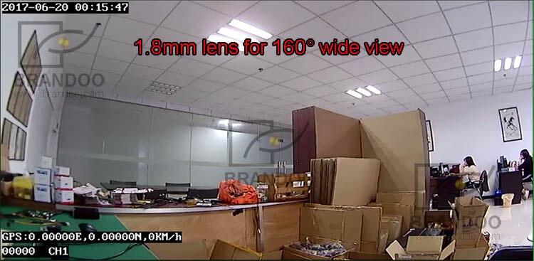 2CH 1080P mobile DVR +2pcs square AHD camera