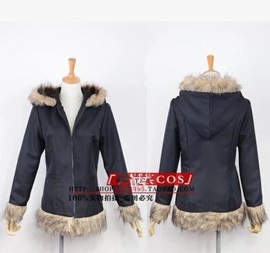 Anime DuRaRaRa! Orihara Izaya Vogue Black Coat Jacket Cosplay Free shipping