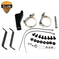 For Harley Dyna 2006 2014 Street Bob FXDB Low Rider FXDL Headlight Fairing Trigger Lock Mount Kit
