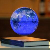 Магнитной левитации Глобус 6 дюйм(ов) украшение стола ремесел подарок вращения теллурий офисные предметы мебели