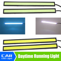 Super Bright 17cm cool White/iceblue COB LED Lights for DIY DRL Daytime running Fog Driving Lamp