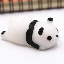 Squishy Toys Fun Stress Squishies Squeeze Gifts For Kid Kids Soft Cute Animals Pinch For Baby Boys Girls Panda Chick Rabbit Bear(China)