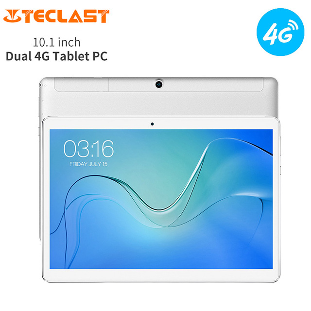Teclast P10 4G Tablet PC 10.1 inch IPS 1280*800 Android 8.1 MTK 6737 Quad Core 2GB RAM 16GB Dual Band 4850mAh Phone Phablet GPS