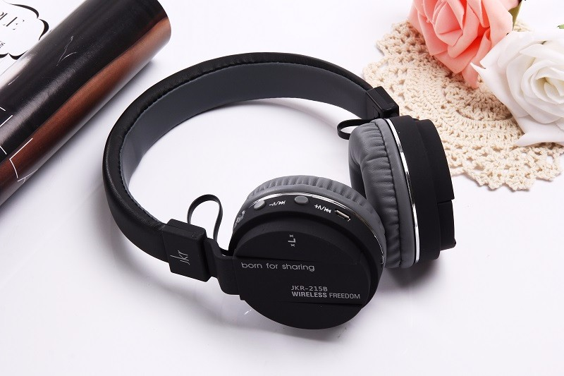 Newest JKR Foldable Wireless Bluetooth Headphone Stereo Music bass Headset With Mic Support TF Card FM Radio rock y10 stereo headphone earphone microphone stereo bass wired headset for music computer game with mic