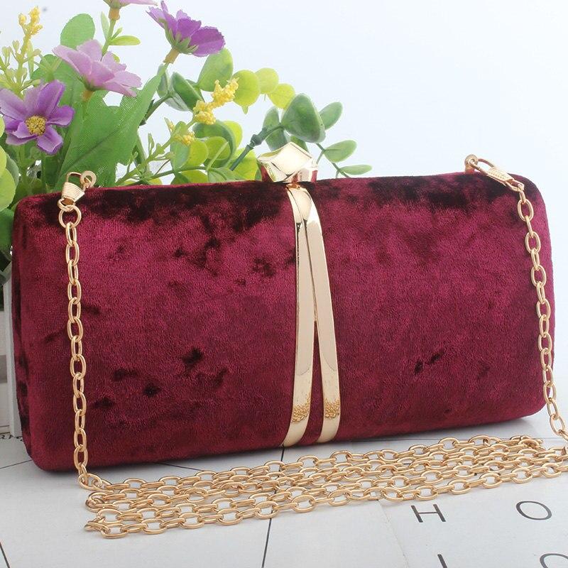 ef787b9d896d Клатчи вечерние сумки для женщин 2019 фланелевая ткань Роскошный кошелек  сумки через плечо bolsa feminina