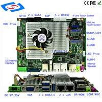 New Customize Intel I5 2430M Motherboard Dual Core 2 4GHz Mini PC Mainboard 12v Mini ITX